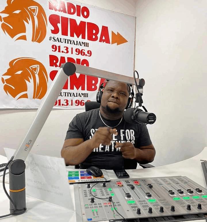 Chigulu ngala radio presenter Radio simba