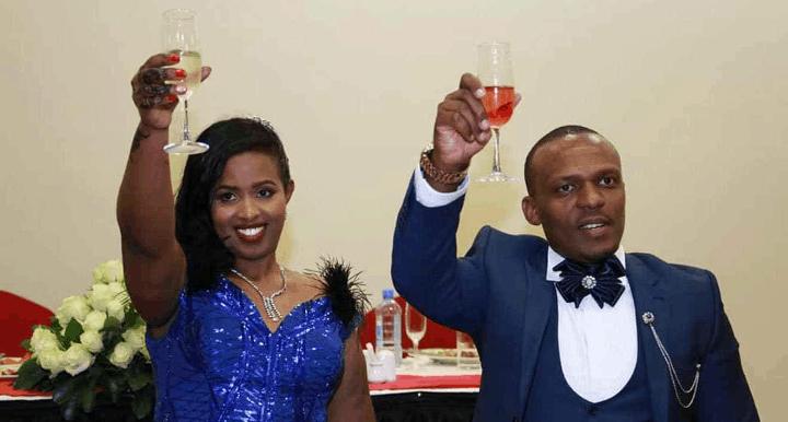 Ben Kitili and his wife Amina mude