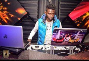 DJ Evolve in club