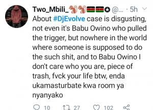 DJ Evolve na babu Owino