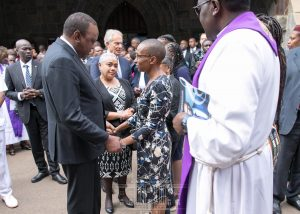 Wambui kamiru and uhuru kenyatta