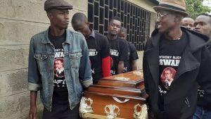 Njenga mswahili funeral