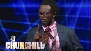 professor Hamo Churchill show