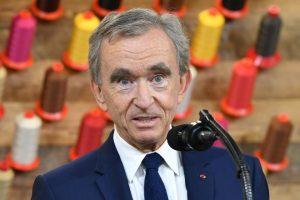 French billionare Bernard Arnault