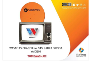 Jinsi ya kulipia wasafi Tv startimes