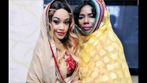 Zari Hassan and mama dangote