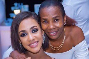 diamond's mother and Tanasha