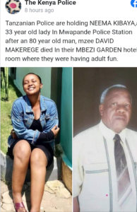 David Makerege na neema kibaya