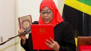 Rais wa Tanzania samia suluhu Hassan
