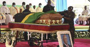 magufuli burial