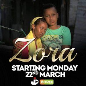 sarah Hassan Zora actors citizen Tv