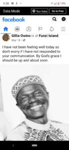 Gillie Owino mzee msiri