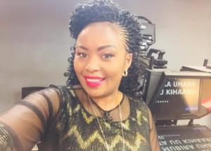 Former Kameme TV presenter Keziah wa Kariuki