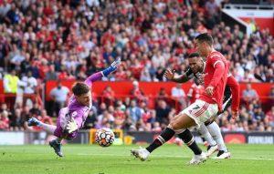 Cristiano Ronaldo first match Manchester united vs Newcastle