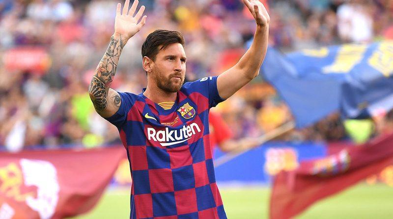 Idadi ya magoli ya Messi